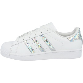 adidas Superstar white-glitter silver/ white, 38.5