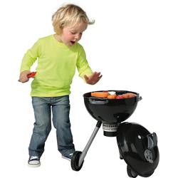 Klein Kinder-Grill Weber Kugelgrill Premium mit Licht und Sound