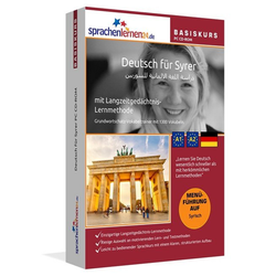 Deutsch für Syrer Basiskurs PC CD-ROM