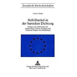 Hell-Dunkel in der barocken Dichtung. Vereni Fässler  - Buch