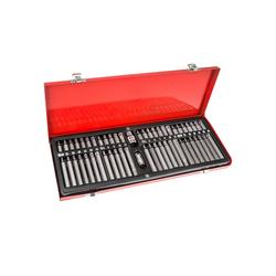 tectake Werkzeug Bit Set 54-tlg., (54-St)
