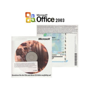 Microsoft Office 2003 Small Business SBE DE | Word, Excel, Outlook, Powerpoint