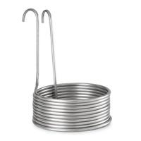 Klarstein Aufwärtsspirale Eintauchkühler Maische-Kühler 10 Schleifen Ø25,5cm