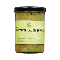 Wacker Kartoffel-Lauch-Suppe Bio, 400 ml