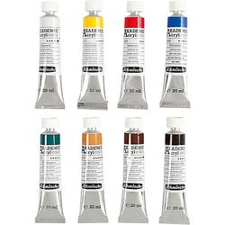 Schmincke AKADEMIE® Acrylfarbe, 8x20ml