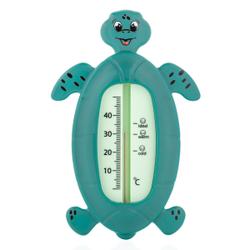 reer Schildkröte Badethermometer, Badewasserthermometer zur optimalen Temperaturmessung, 1 Stück