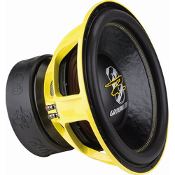 Ground Zero Subwoofer (Ground Zero GZNW 15XSPL - 38cm Subwoofer)