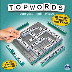 Topwords - Der 3D-Wortspielklassiker, 2-4 Spieler ab 8 Jahren