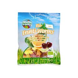 """Bio-Fruchtgummi """"Frutti Worms"""" 100 g"""