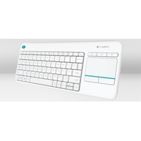 K400 Wireless Touch Keyboard Plus DE weiß (920-007128)