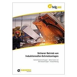 Sicherer Betrieb von Induktionsofen-Schmelzanlagen - Buch