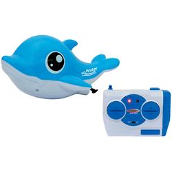 Jamara Badespielzeug RC Water Animals blau Kinder Wasserspielzeug Outdoor-Spielzeug