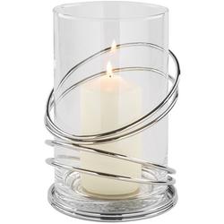 Fink Windlicht CLAUDE (1 Stück), mit Glaszylinder Ø 15 cm x 25 cm