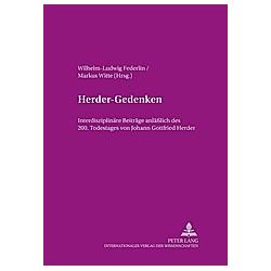 Herder-Gedenken - Buch