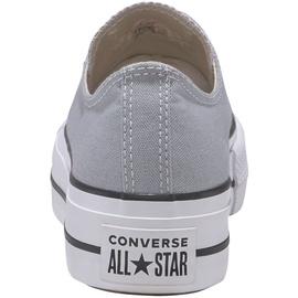 Converse Chuck Taylor All Star Platform Seasonal Low Top wolf grey/white/black 36,5