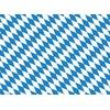Tischsetmacher Platzset, Tischsets I Platzsets - Bayern Flagge - 10 Stück aus hochwertigem Papier 44 x 32 cm, Tischsetmacher, (10-St)
