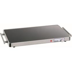 Bartscher WP150 1/1 GN Warmhalteplatte, Wärmeplatte ausgelegt für 1/1 GN- Behälter, Maße: 305 x 570 x 40 mm