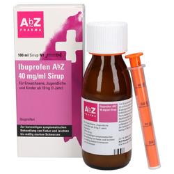 IBUPROFEN AbZ 40 mg/ml Sirup 100 ml