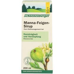 MANNA-FEIGEN-Sirup Schoenenberger 200 ml