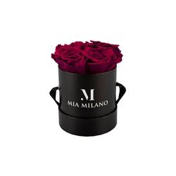 Kunstblume Konservierte Rosen, Mia Milano rot