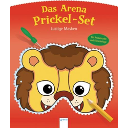 Prickel-Set. Lustige Masken
