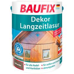 Baufix Holzschutzlasur Dekor-Langzeitlasur, 5 Liter, braun braun