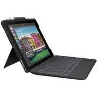 """Logitech Slim Combo Hülle mit Tastatur IT für iPad Pro 10.5"""" schwarz"""