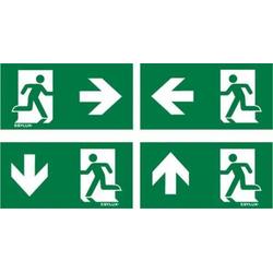 ESYLUX EN10077524 Piktogramm Notausgang rechts, Notausgang links, Notausgang unten, Notausgang oben
