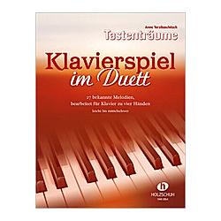 Klavierspiel im Duett  Bearbeitungen für Klavier vierhändig - Buch