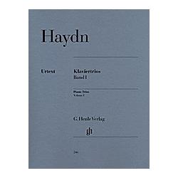 Klaviertrios  Violine  Violoncello u. Klavier. Joseph - Klaviertrios  Band I Haydn  - Buch