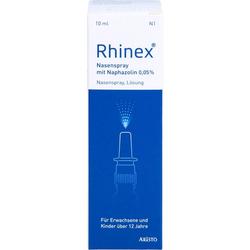 RHINEX Nasenspray + Naphazolin 0,05 10 ml