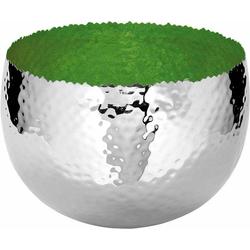 Fink Dekoschale SEFA grün Ø 25,5 cm x 25,5 cm x 18,5 cm x 25,5 cm