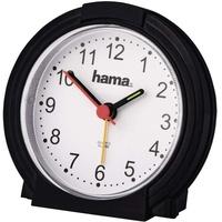 "Hama Wecker ""Classic"", geräuscharm, schwarz"