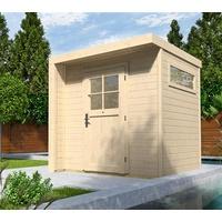 weka Designhaus 262 2,09 x 2,05 m natur