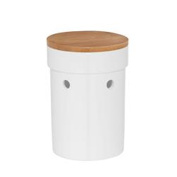 Knoblauchtopf Salena Keramik weiß 17,0cm 12,0cmØ