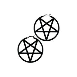 Wildcat Paar Ohrhänger Ohrringe Pentagram