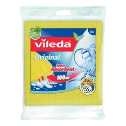 Schwammtücher »Aqua« gelb, Vileda, 18 cm