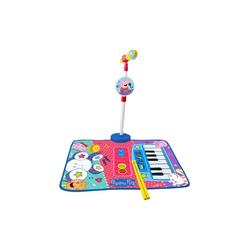 Peppa Pig Spielzeug-Musikinstrument 3-in-1 Musikmatte mit Klavier, Schlagzeug und