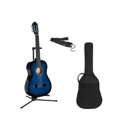 Konzertgitarre Konzertgitarren-Set 1/2 1/2 blau
