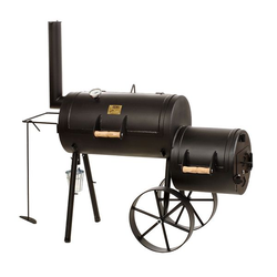 "Joe's BBQ Smoker 16"" Wild West Schwarz"