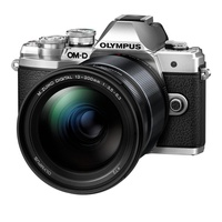 Olympus OM-D E-M10 Mark III silber + 12-200mm