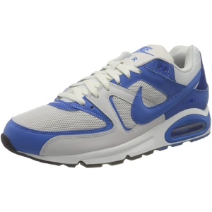 Nike Herren AIR MAX Command Running Shoe, Platinum Tint/Pacific Blue, 42 EU