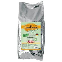 LANDFLEISCH Trockenfutter Softbrocken Ente, 5 kg