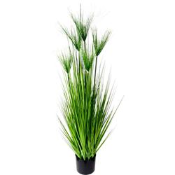 Kunstpflanze Zyperngras im Topf Zyperngras, I.GE.A., Höhe 130 cm