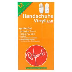 HANDSCHUHE Vinyl soft M 100 St