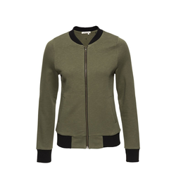 Zip Jacket College olive-green
