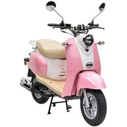 Nova Motors Motorroller Retro Star, 49 ccm, 45 km/h rosa
