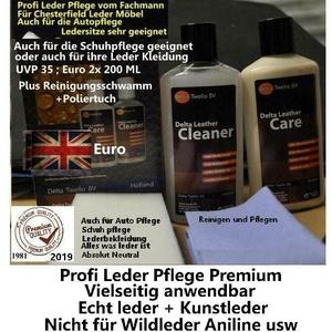 Lederpflege  2x200  2020/ Long life Profi Lederpflege professionell Premium !!!