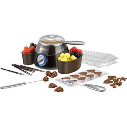 Chocolatier-Schokofondue, silber - silber