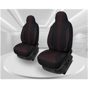 Maß Sitzbezüge kompatibel mit Seat Leon 3 5F Fahrer & Beifahrer ab 2012 Farbnummer: PL402
